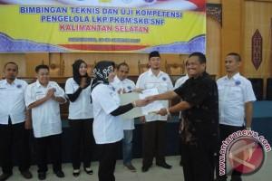 Wahidah Dilantik Ketua TUK PKPI Kalsel