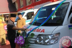 Bank Kalsel Bantu Mobil Jenazah dan Ambulance
