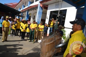 Syukuran Adipura Bersama Pasukan Kuning