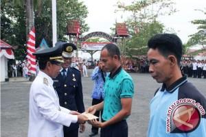 122 Penghuni Rutan  Marabahan Mendapatkan Remisi