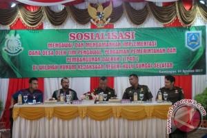 Kajari HSS : Gunakan Dana Desa Sesuai Aturan Perundang-Undangan