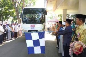Wabup HSS Lepas 35 Orang CJH Gelombang Ke-2