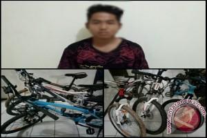 Polisi Tangkap Pelaku Pencurian Spesialis Sepeda Gunung