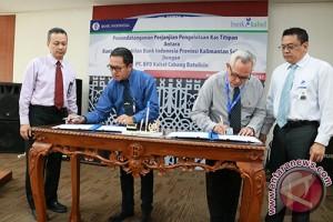 BI dan Bank Kalsel  Kerja Sama Kas Titipan