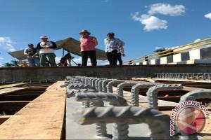 Bupati Pantau Pembangunan Jembatan Binuang