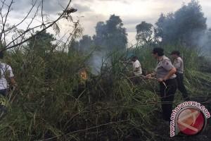 Polres Banjarbaru Tanggapi Laporan Karhutla