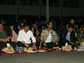 Pemerintah Kabupaten Barito Kuala menggelar nonton bareng film G30S/ PKI, di halaman Kantor Bupati setempat, Sabtu (23/9) malam. Foto:Antaranews Kalsel/Arianto/G.