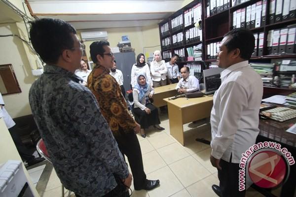 Komisi Pemberantasan Korupsi Monitoring Dua Instansi HSU