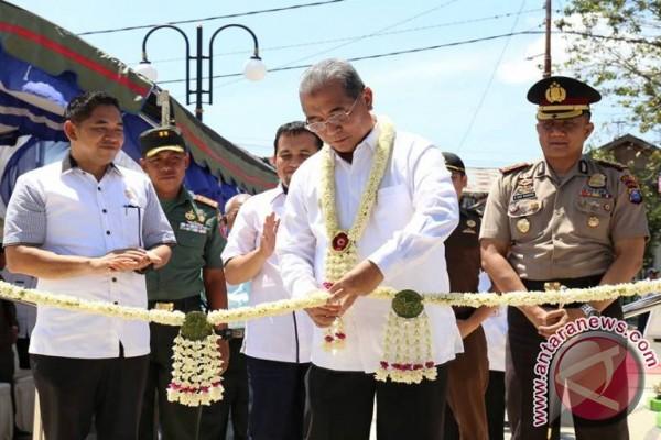 Bupati HSS Resmikan RTH Taman Palidangan Sehati