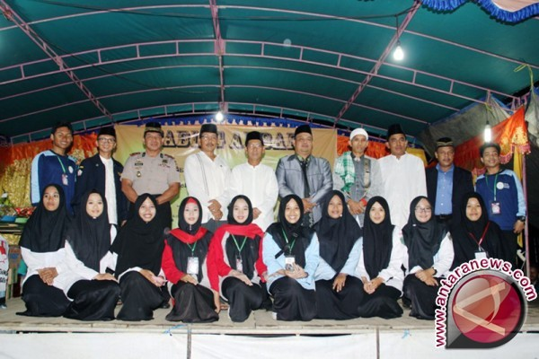 Kolam Kiri Gelar Saprah Amal Pembangunan Mesjid