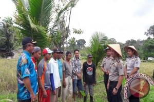 Kapolres Kotabaru Imbau Petani Tak Bakar Jerami