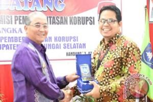 350 Orang Ikuti Sosialisasi dan Pencegahan Korupsi di HSS