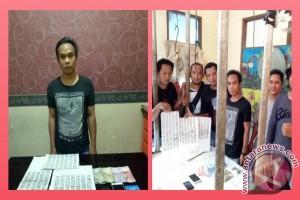 Polres Tabalong Tangkap Bandar Togel Di Pasar Tanjung