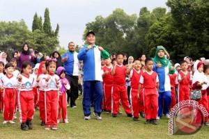 1.000 Anak HSS Ikuti Senam PAUD Ceria