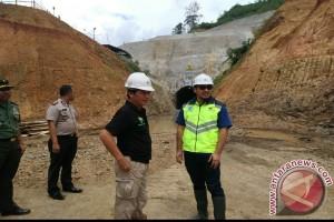 Pembangunan Bendungan Tapin mencapai 26 Persen