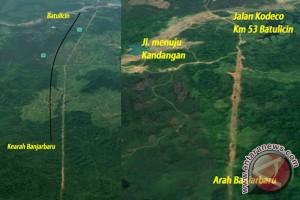 Kementerian PUPR Tinjau Pembangunan Jalan Tol Kalsel