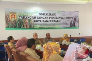 Sosialisasi Cadangan Pangan Pemerintah Banjarbaru
