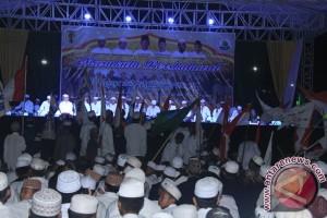 Peringati Tahun Baru Islam Ribuan Masyarakat HST Bershalawat