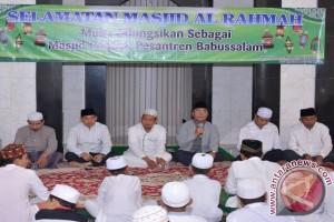 Bupati HSS Hadiri Selamatan Difungsikannya Mesjid Al Rahman