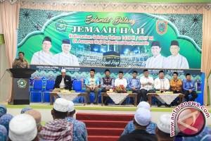 Kedatangan Jamaah Haji Tala Dibagi Dua Kloter