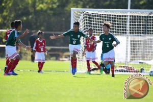 Garuda Muda Indonesia Dipaksa Menyerah Dua Gol Tanpa Balas