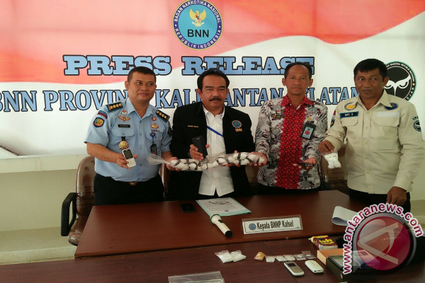 BNNP Kalsel Ungkap Peredaran Narkoba Miliaran Rupiah