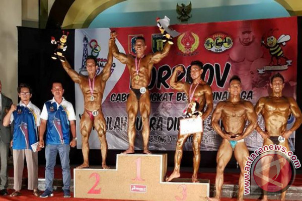 Atlet Binaraga HSS Sumbangkan Satu Medali Emas