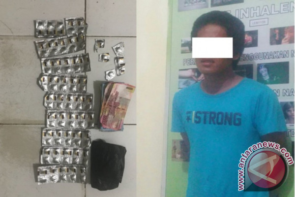 Adu Mulut Dengan Polisi Pengedar Carnophen Ditangkap
