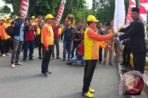 Kotabaru Lepas 560 Anggota Kontingen Ke Porprov