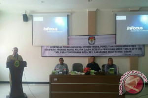 KPUD Gelar Bimtek Pelaksanaan Pemilu 2019
