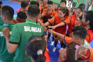 Tim Futsal Balangan Tampil Meyakinkan Di Porprov X Tabalong