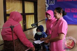 Bhayangkari HSS Gelar Bakti Sosial Pemeriksaan IVA