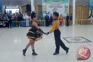 Kontingen Tabalong Borong Lima Medali Cabor Dansa