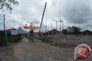 Jembatan Simpang Kuin Dipercepat Penyelesaiannya