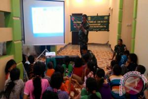 "Kodim Banjarmasin Sosialisasi ""Werving"" Di Lokasi TMMD"