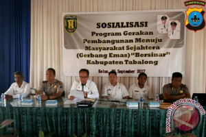 Tabalong Sosialisasi Program Kredit Gerbang Emas
