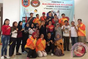 Taekwondo Kotabaru Raih 12 Medali Porprov Tabalong