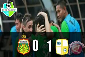 Barito Putera Kalahkan Bhayangkara FC 1-0
