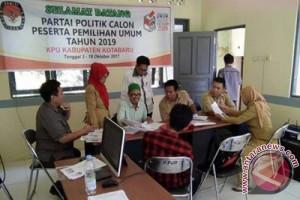 KPU Kotabaru Terima Pendaftaran 18 Parpol