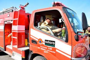 PT Adaro Group Bantu Enam Unit Mobil