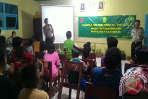 Polresta Banjarmasin Penyuluhan Kamtibmas Di Lokasi TMMD