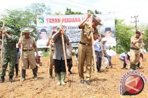 Pemkab-NU Tanam Jagung Perdana