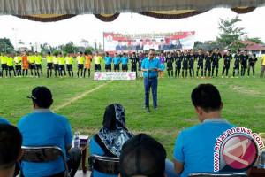 Wabup Buka Turnamen Bupati Cup 2017