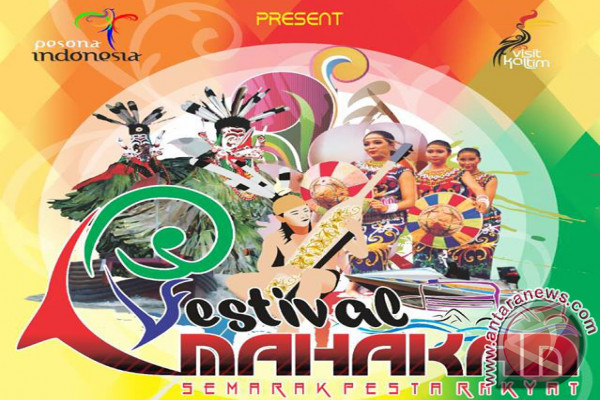 "Festival Mahakam Masuk ""Top 100 Event Indonesia"""