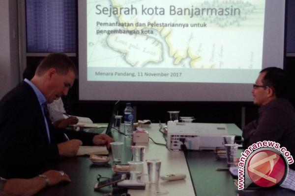 Dutch expert assesses Banjarmasin extraordinary