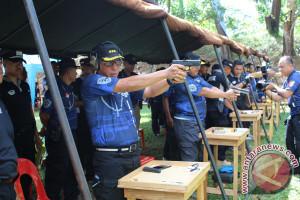 Ratusan Peserta Ikuti Kejuaraan Menembak Kasat Brimob