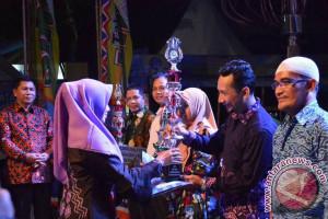 Stan Dinas Perikanan Juara HSS Expo