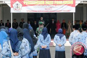 Noormiliyani Pimpin Peringatan Hari Pahlawan