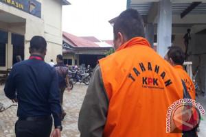 KPK Titipkan Iwan dan Andi di Rutan Polresta Banjarmasin