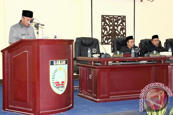 Bupati Tanggapi  Raperda Badan Permusyawarahan Desa